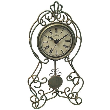 Infinity Instruments Baroque Tabletop Clock