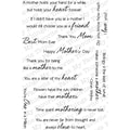 My Favorite Things Clearly Sentimental Sheet, Mothers