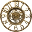 Infinity Instruments Gear Traditional Wall Clock