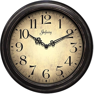 Infinity Instruments Traditional Wall Clocks
