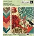 K&Company Engraved Garden Designer Paper Pad, 12in. x 12in.