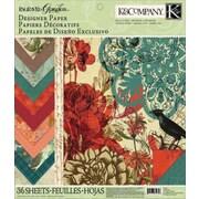 "K&Company Engraved Garden Designer Paper Pad, 12"" x 12"""