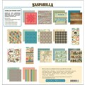 October Afternoon Sasparilla Collection Kit, 12in. x 12in.