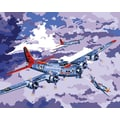 Plaid:Craft Paint By Number Kit, 16in. x 20in., B-17 Bomber