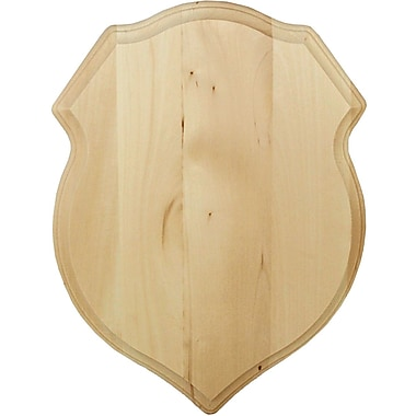 Walnut Hollow Basswood Plaque, Shield