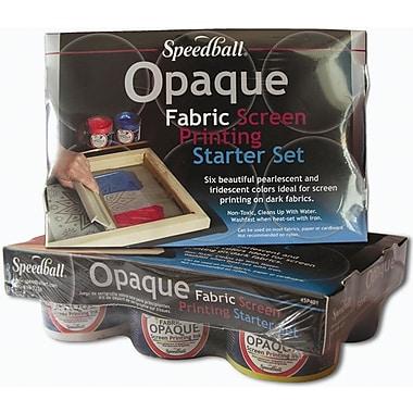Speedball Art Products Speedball Opaque Fabric Screen Printing Starter Kit