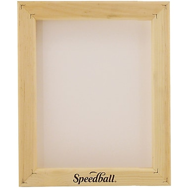 Speedball Art Products Speedball Assembled Frame W/Fabric 12xx Multifilament, 8in. x 10in.