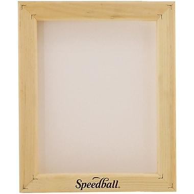 Speedball Art Products Speedball Assembled Frame W/Fabric 12xx Multifilament, 8in. x 10in.