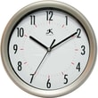 Infinity Instruments Facile-Gunmetal Business Wall Clock