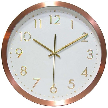 Infinity Instruments Penny for your Time Business Wall Clock
