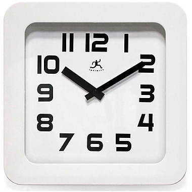 Infinity Instruments Affinity Square Wall/Tabletop Clock