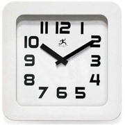 Infinity Instruments Affinity Wall/Tabletop Clock, White