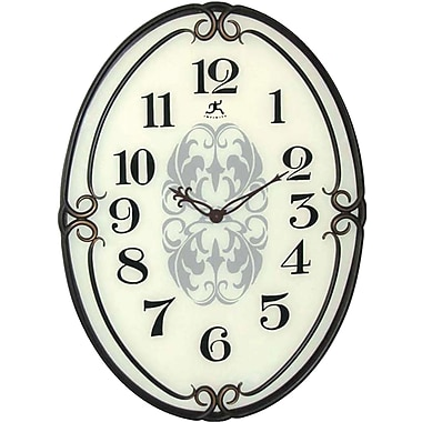 "Infinity Instruments Traditional Pristine 40"" Large Wall Clock"