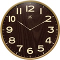 "Infinity Instruments Arbor II 21"" Modern Wood Wall Clock"