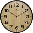 "Infinity Instruments Arbor I 21"" Modern Wood Wall Clock"