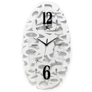 Infinity Instruments Whimsy Oval Wall Clock