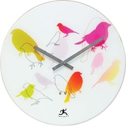 Infinity Instruments 14091 Early Bird Analog Wall Clock