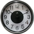 Infinity Instruments Electric Kool Modern Wall Clock