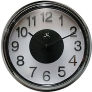 Infinity Instruments Electric Kool Modern Wall Clock