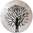 Infinity Instruments 14135 Topiary Analog Wall Clock,