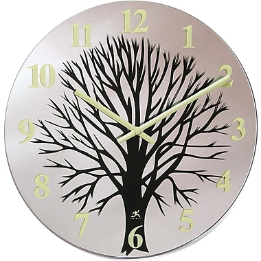 Infinity Instruments 14135 Topiary Analog Wall Clock,