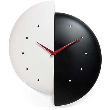 Infinity Instruments Novelty Half Time Wall Clock