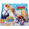 Alex Toys Color & Cuddle Washable Kit, Pony