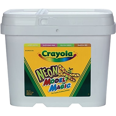 Crayola Model Magic 2 Pound Tub, Neon