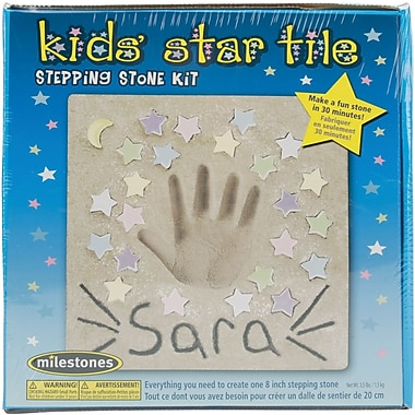 Midwest Products Kids' Star Tile Stepping Stone Kit