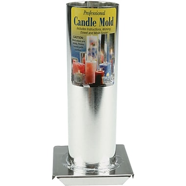 Yaley Professional Candle Mold Metal Cylinder, 2
