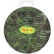 Makin's USA Clay Cutters, 26/Pkg, Alphabet