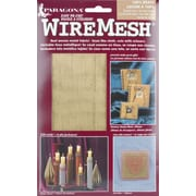 "Amaco WireMesh, #80, 16"" x 20"" Sheet, Brass"