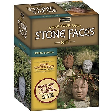 Magnetic Poetry Make Your Own Stone Faces Kit, Serene Buddha