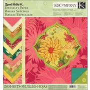 "K&Company Sweet Nectar Mod Specialty Paper Pad, 12"" x 12"""