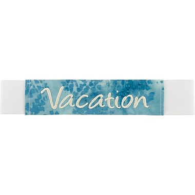 ScrapBands Embroidered Vacation ScrapBand