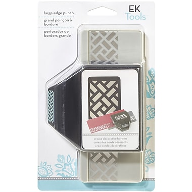 EK Success Slim Edger Punch Large, Brick Pattern