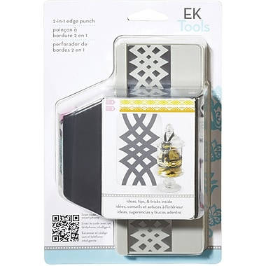 EK Success Slim Edger Punch 2 In 1, Calligraphy Scroll
