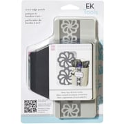 EK Success Slim Edger Punch 2 In 1, Groovy Flower