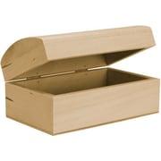 Walnut Hollow Basswood Rounded Hinged Box