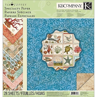 K&Company Travel Specialty Paper Pad 12in.X12in.-28 Sheets