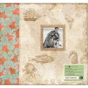 K&Company Travel Postbound Album, 12 x 12