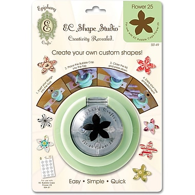 Epiphany Crafts Shape Studio Tool, Flower 25