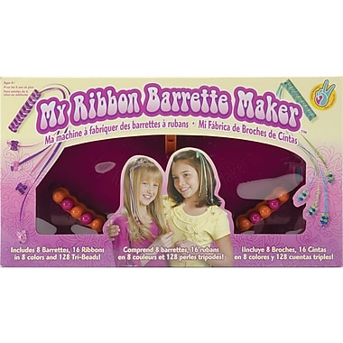Crorey Creations My Ribbon Barrette Maker Kit