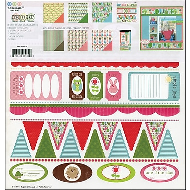 3 Bugs In A Rug One Fine Day Caboodle Page Kit, 12in. x 12in.