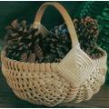 Commonwealth Basket Blue Ridge Basket Kit, Melon Basket