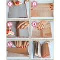 Fabscraps Organic Do It Yourself 10 Minute Mini Book Kit