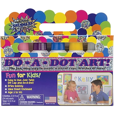 Do-A-Dot Art Set, 6/Pkg, Shimmer
