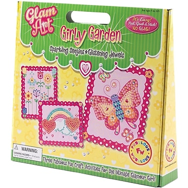 Glam Art Do-A-Dot Kit, Girly Garden