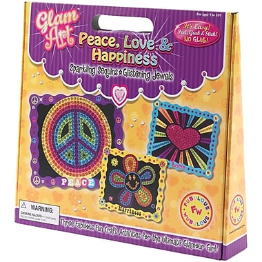 Glam Art Do-A-Dot Kit, Peace Love & Happiness