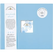 "Doodlebug Storybook Album, 12"" x 12"", Bubble Blue"